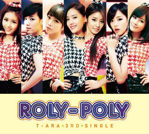 "News] T-ara's live performances of Japanese ""Roly Poly"" and ""Bo ..."