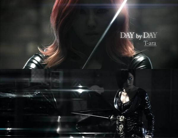 T-ara day by day and sexy love drama